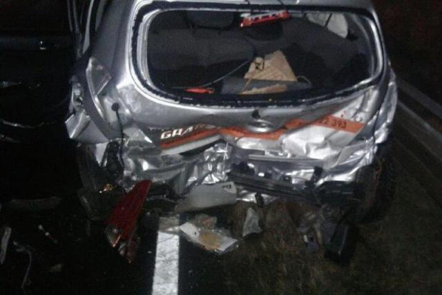 Dwie osoby ranne w zderzeniu czterech aut na obwodnicy Nowogardu.