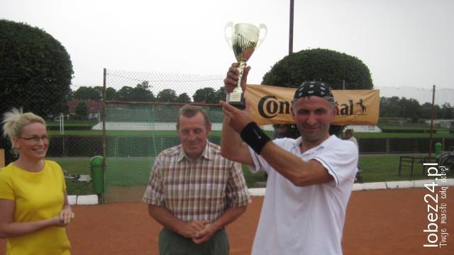Oliwer Cybulskki wygrał I Turniej Tenisa Ziemnego Łobez CUP 2015