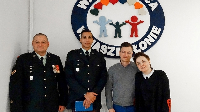 Wizyta przedstawicieli armii kanadyjskiej w OREW w Gudowie
