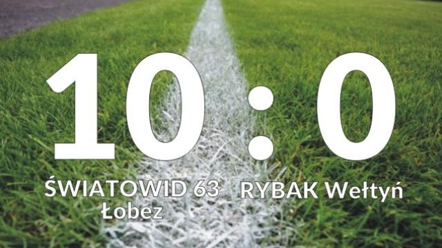 ŚWIATOWID 63 Łobez vs RYBAK Wełtyń 10:0 (5:0)
