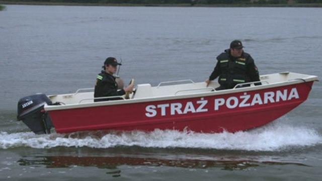Znaleziono ciało mężczyzny na jeziorze Woświn w Cieszynie Łobeskim.