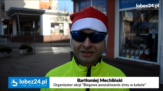 Biegowe poszukiwania zimy w Łobzie.