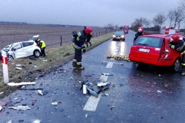 Śmiertelny wypadek na krajowej szóstce