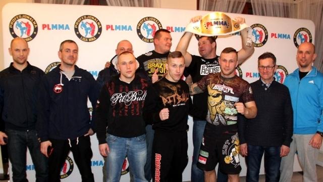 Ważenie przed Galą Walk MMA w Łobzie.