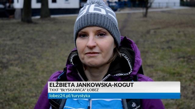 Piechotą do wiosny - zaprasza Elżbieta Jankowska-Kogut.