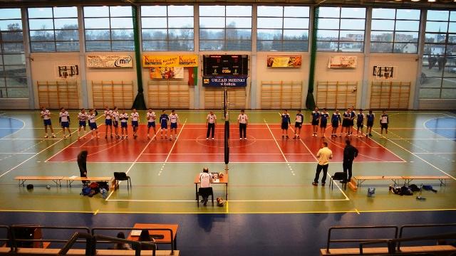MKS OLIMP Łobez vs UKS BRONEK Koszalin 0:3 (15:25, 15:25, 20:25) - piłka siatkowa III liga mężczyzn