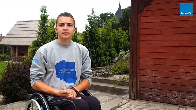 Dookoła Polski na wózku inwalidzkim
