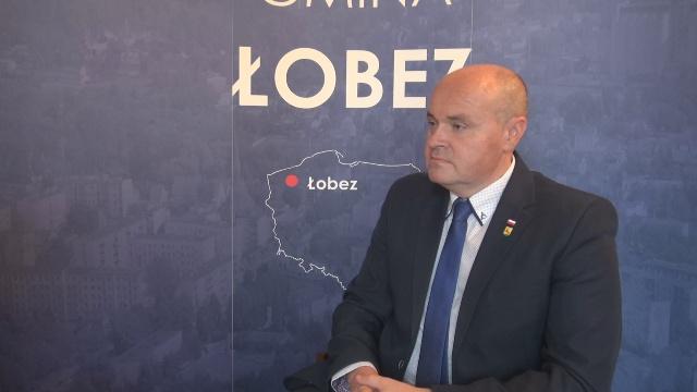 Rozmowa z burmistrzem Łobza.