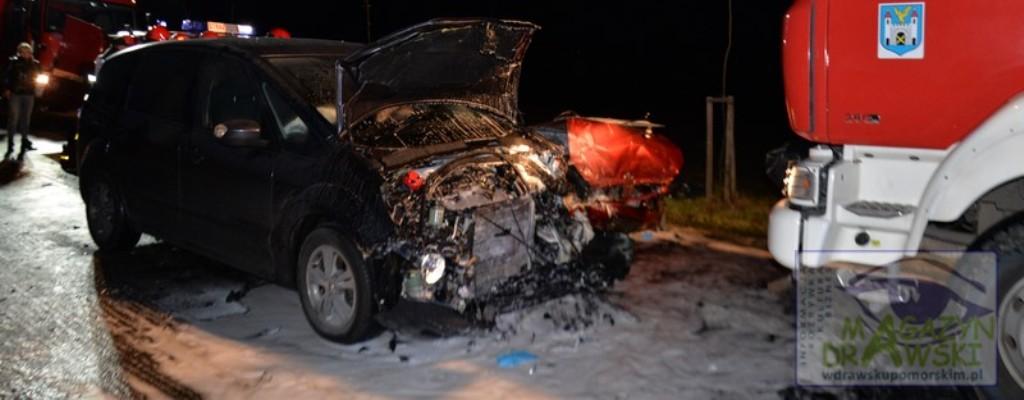 Tragiczny wypadek pod Złocieńcem. Nie żyją trzy osoby