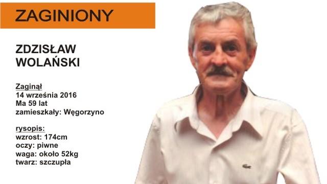 Zaginął Zdzisław Wolański z Węgorzyna