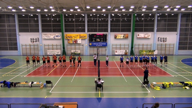 OLIMP Łobez vs WIKING Rymań 3:2 (26:24, 18:25, 25:20, 23:25, 15:10) - piłka siatkowa III liga mężczyzn 2017/2018