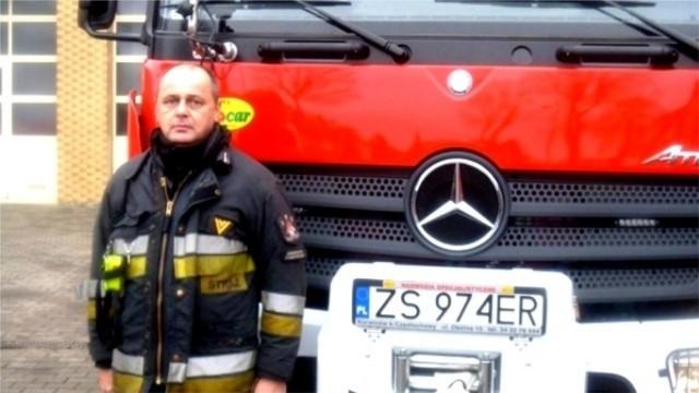 O strażaku, który uratował ludzkie życie!