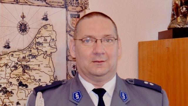 Kom. Zbigniew Dankowski nowym Komendantem Powiatowym Policji w Łobzie.