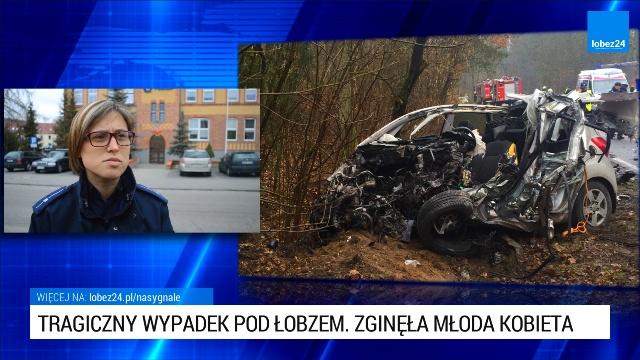 Wypadek na drodze Łobez - Węgorzyno. Zginęła młoda kobieta