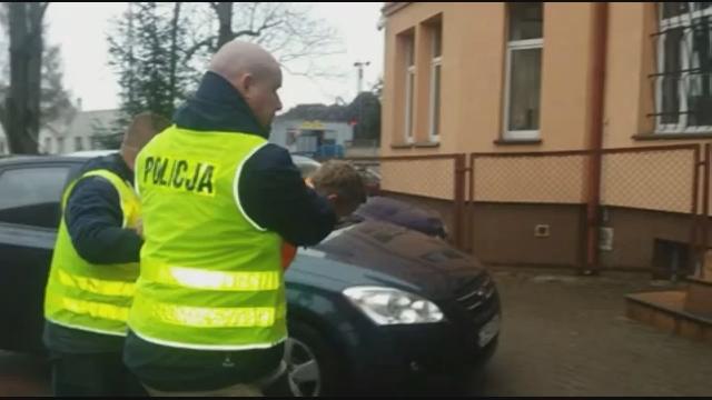 Areszt dla sprawców podpalenia w Rokosowie niedaleko Sławoborza.