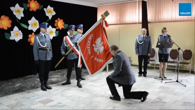 Objęcie stanowiska Komendanta Powiatowego Policji w Łobzie