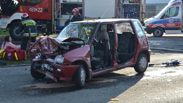 Poważny wypadek w Łobzie.
