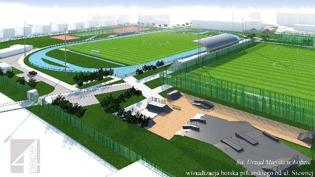 2 mln złotych na modernizację boiska piłkarskiego w Łobzie