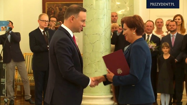 Halina Szymańska nową szefową Kancelarii Prezydenta.
