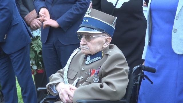 ppor. Wiktor Sumiński ps. Kropidło kończy 96 lat.