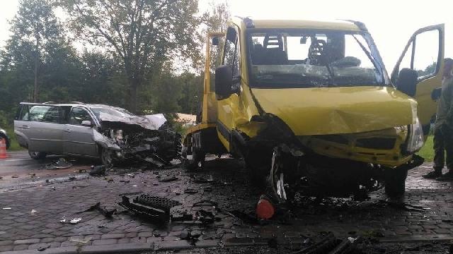 Kolejny wypadek w Mścicach.