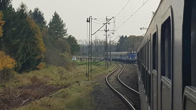 Dwa pociągi na jednym torze. O krok od tragedii w Worowie.
