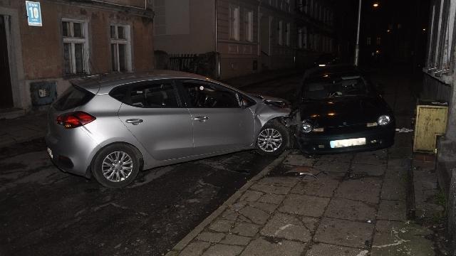 Nocny pościg ulicami Koszalina