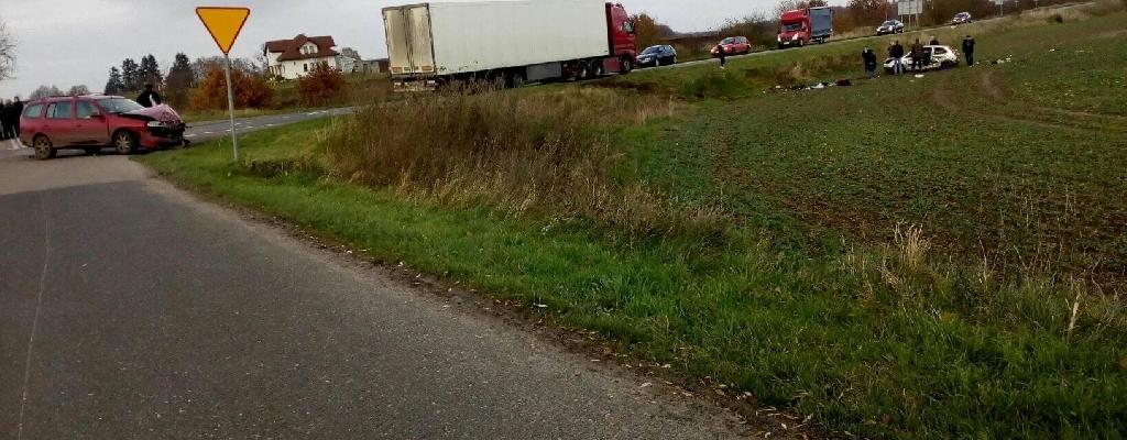 Wypadek na drodze Płoty - Golczewo
