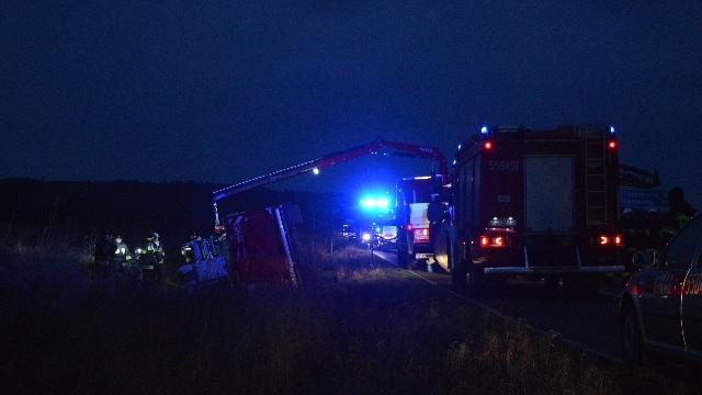 Świdwin: Wypadek wozu strażackiego w drodze do pożaru.
