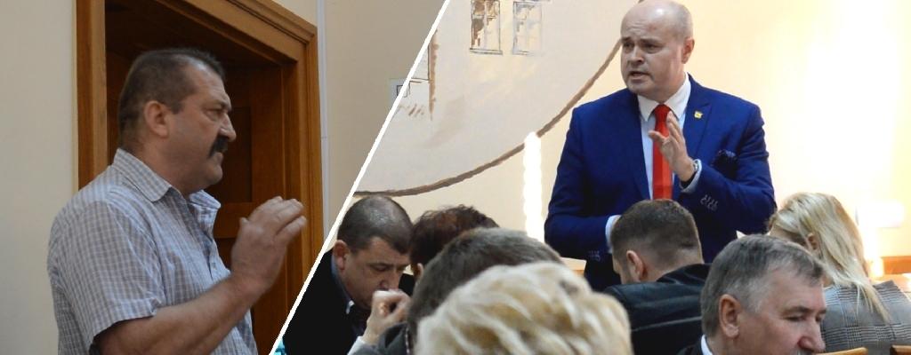 Ostra wymiana zdań na Sesji Rady Miejskiej w Łobzie.