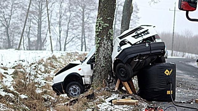 Śmiertelny wypadek pod Białogardem.