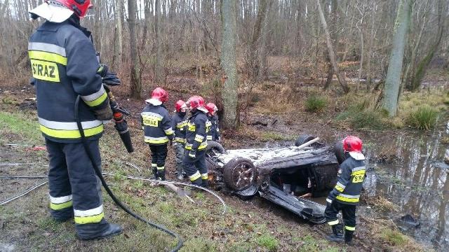 Śmiertelny wypadek pod Kołobrzegiem.