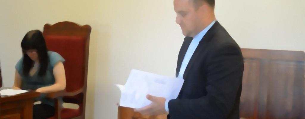 Burmistrz Dobrej  skazany prawomocnym wyrokiem.