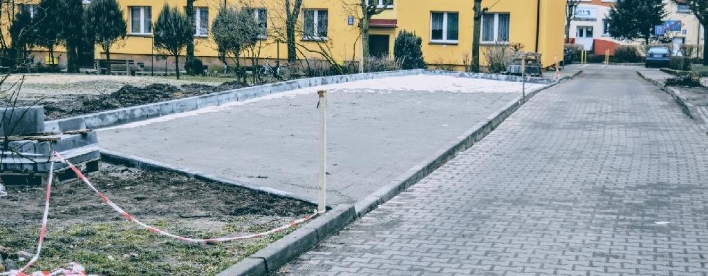 Powstaje parking między ulicami Mickiewicza a Murarską.