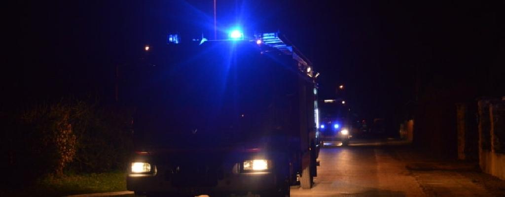 Jedna osoba zginęła w pożarze domu we wsi Przytoń niedaleko Węgorzyna.