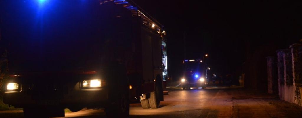 Pożar domu w Siemczynie. Strażacy znaleźli zwęglone zwłoki mężczyzny.