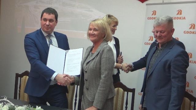 Podpisano umowę na budowę obwodnicy Węgorzyna.