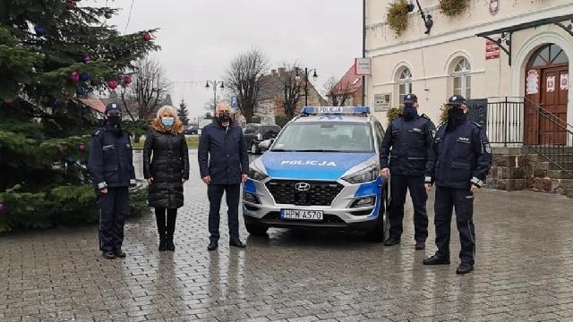 Nowy radiowóz dla policjantów z Reska
