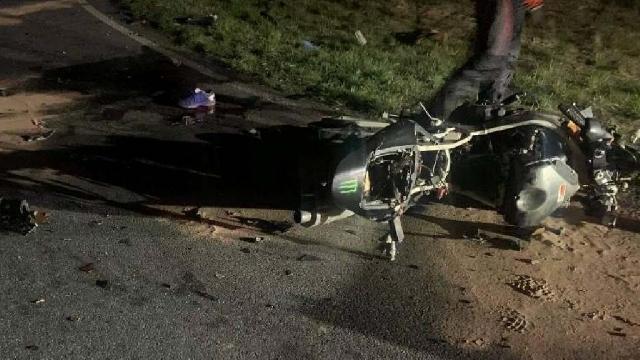 [DW-142] Wypadek na chociwelce. Nie żyje motocyklista.