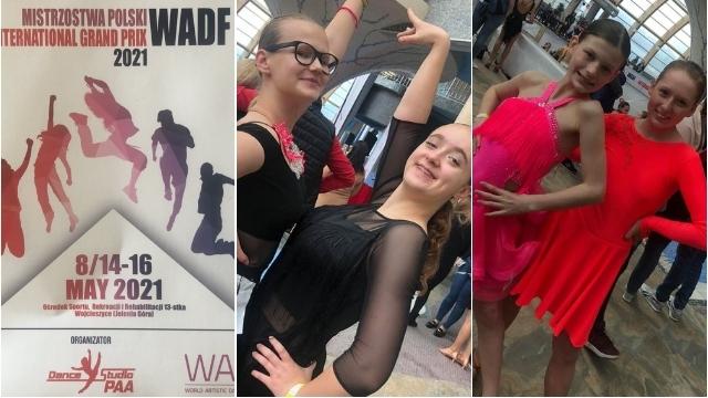 Kolejne sukcesy tancerzy ze szkolny tańca Iskra