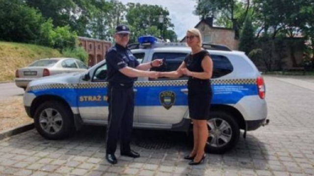 Węgorzyno. Ze Straży Miejskiej do Policji. Dacia Duster zmienia barwy