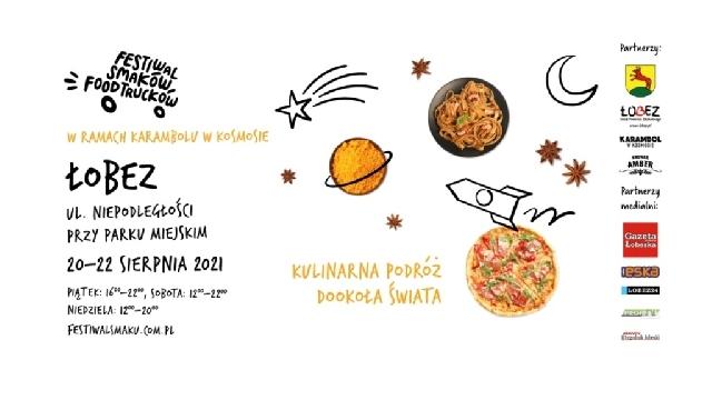 I Festiwal Smaków Food Trucków w Łobzie
