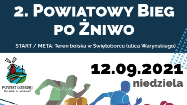 2. Powiatowy Bieg po Żniwo - Łobez, 12 września 2021 roku