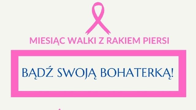 Różowy październik – miesiąc świadomości raka piersi