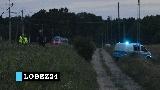 Łobez. Pociąg potrącił pieszego. Nie żyje 18 latek