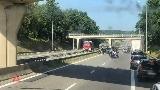 Utrudnienia na węźle Klucz autostrady A6