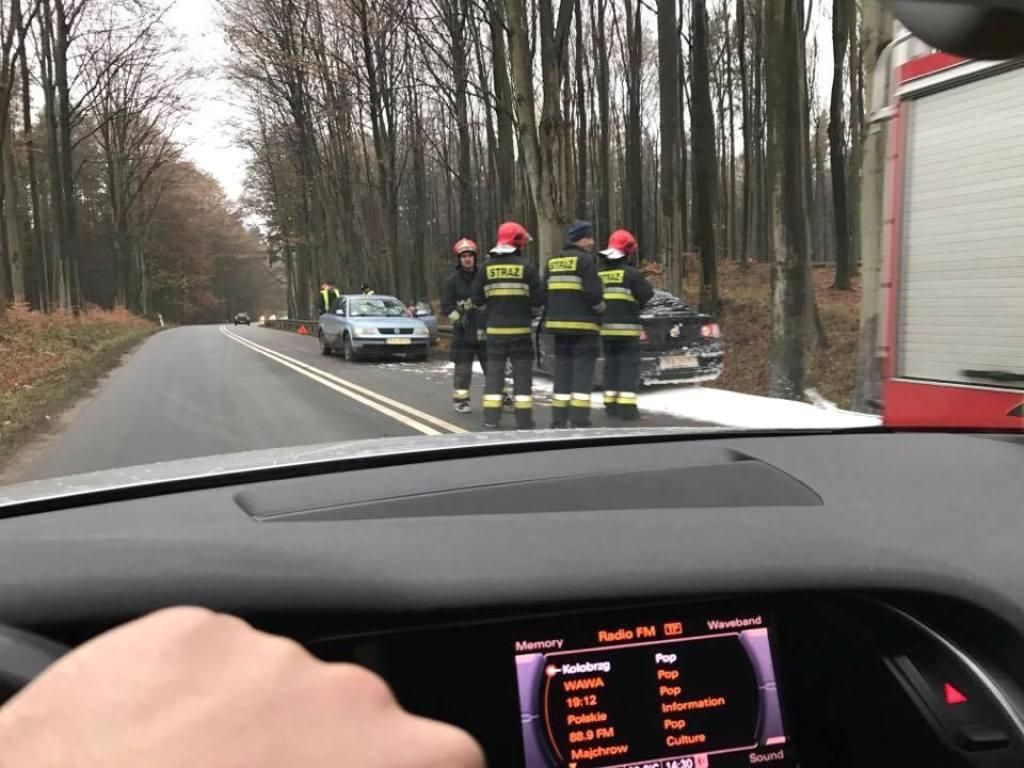 Wypadek na DW nr 105